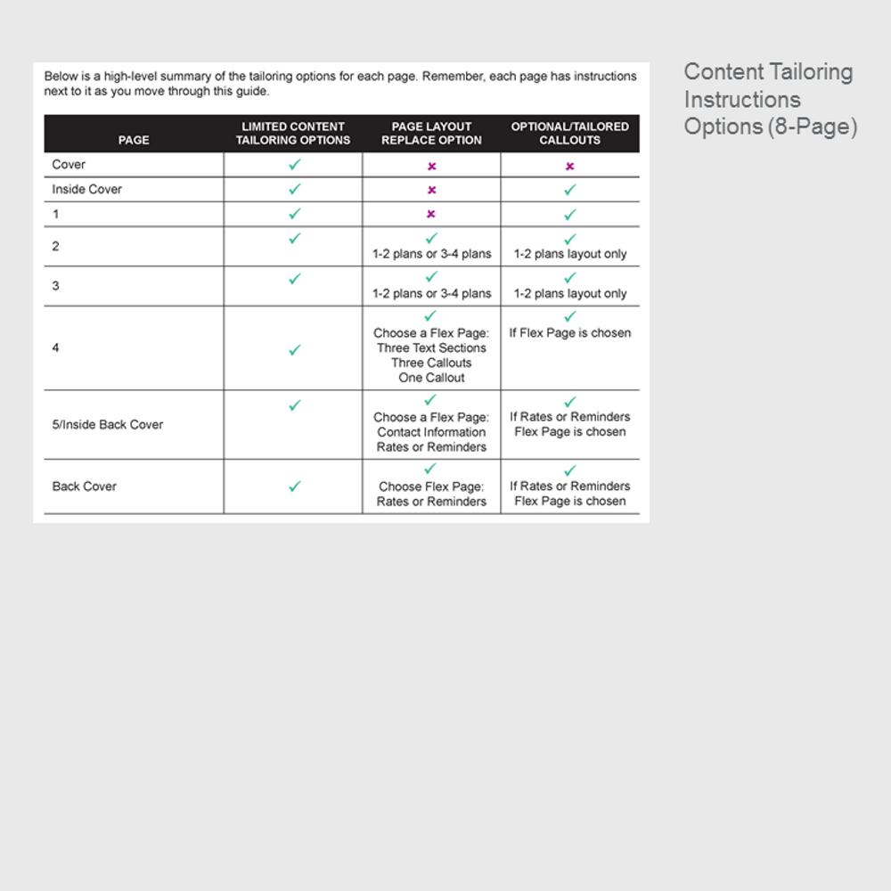 Open Enrollment Guide Template Images