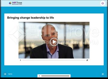 Change Leadership 101 Training Expert Video Example