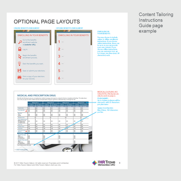 Benefits Enrollment Guide (4-page) Content Tailoring Guide Outdoor Vibrant pg 8