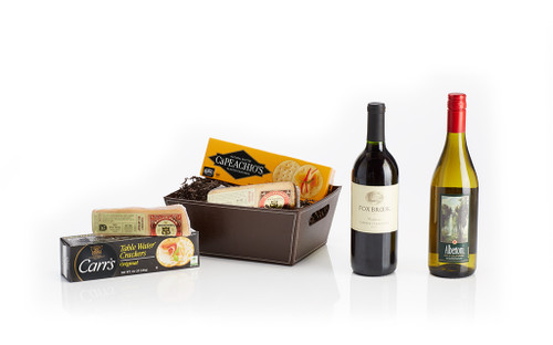 The Wine and Cheese Basket