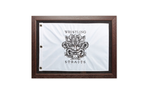 Framed Embroidered Flags