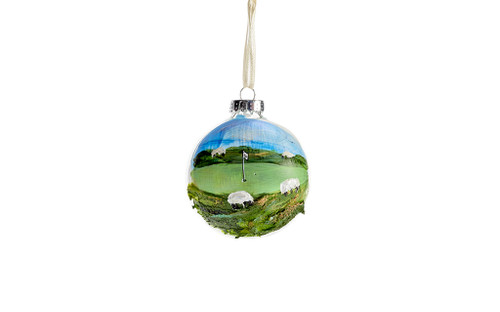 Whistling Straits Sheep Ornament