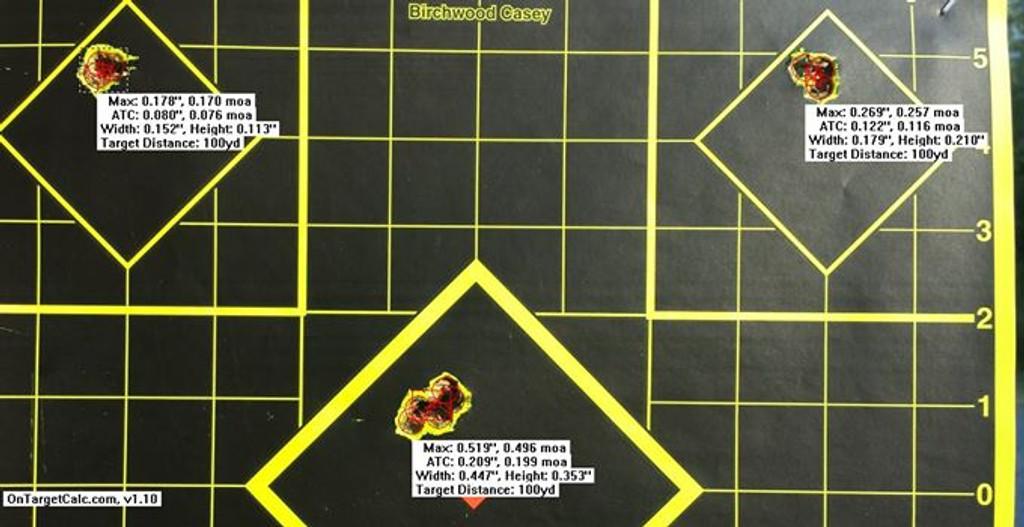 Top Shot Kelly Bachand of the US Palma Team Testing Eagle Eye 308 Win 175gr HPBT