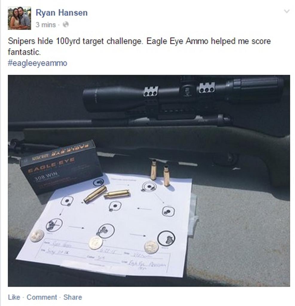 Snipers Hide Challenge by and Eagle Eye Aficionado