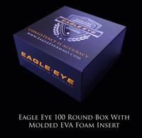 New Eagle Eye Precision Match 100 Round Box With Custom Molded EVA Foam Insert
