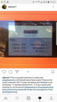 Thanks to Submoa17 on Instagram for his field test report of Eagle Eye Gen 2 308 Win 175gr OTM Precision Match Ammunition. Standard Deviation of 1.9 fps and an extreme spread of 3fps.