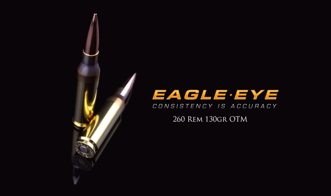 260 Rem 130gr Hybrid by Eagle Eye Ammo