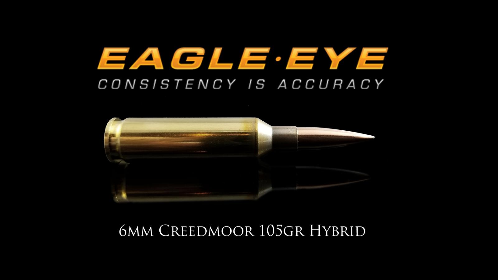6mm Creedmoor 105gr Hybrid by Eagle Eye Ammo