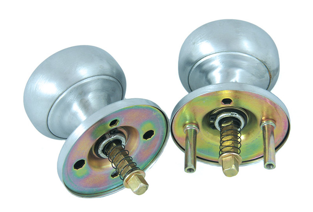 Progressive - Thru Bolted Knobs Assembly K6220-26D/03 For Marks Mortise Locks Satin Chrome