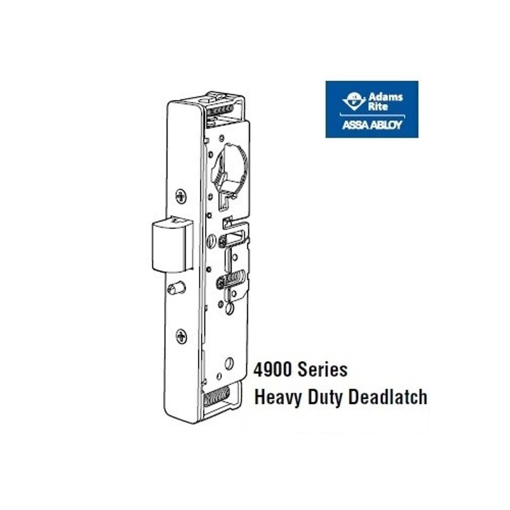 adams rite 4900 heavy duty deadlatch rh asklocksmith247 com Mortise Lock Parts Diagram Adams Rite Deadlatch