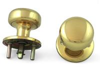 Progressive - Thru Bolted Knobs Assembly K6220-26D/03 For Marks Mortise Locks Polished Brass