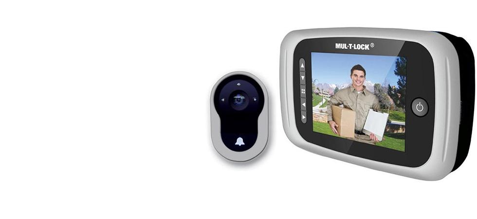 Mul-T-Lock Digital Door Viewer