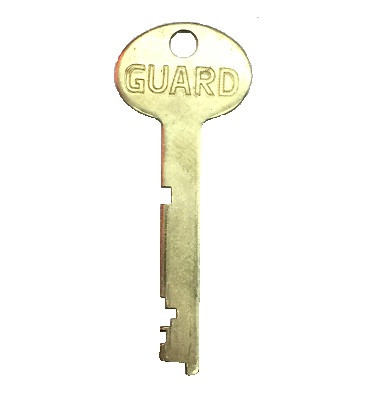 Bullseye B440 Safe Deposit Guard Key