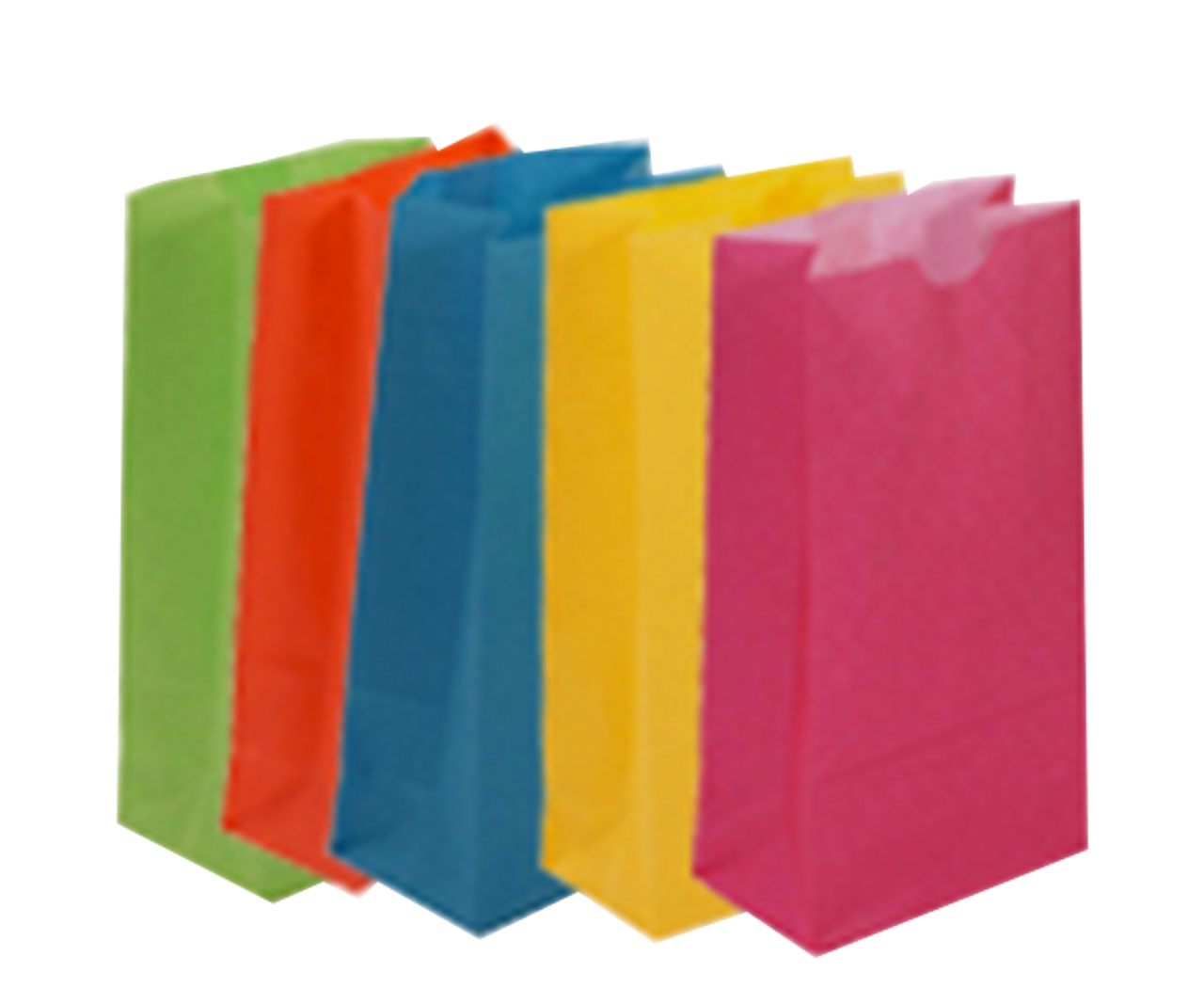 Colored Lunch Bags