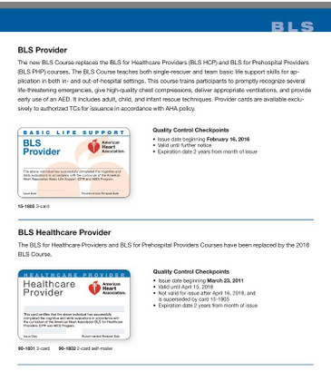 ​BLS vs Heartsaver CPR… What is the Difference?