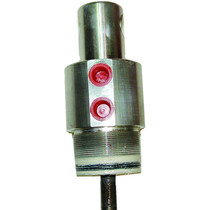Universal Cylinder End Cap or Stand Tube Cylinder - 90 Degree - 2.5in Cap