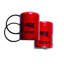 """This heavy-duty Baldwin Hydraulic Filter resists wear and tear while simultaneously minimizing the risk of contamination. It's designed with gaskets that serve as a helpful seal between the engine and the filter, maximizing its lifespan and enhancing its performance efficiency at the same time.  - Weight: 0.80 lbs.  - Dimensions: 3-11/16"""" x 5-13/32"""" 