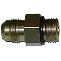 Connect auto components with this 0.375-in. Parker JIC to Male O-ring. It's constructed from steel for durability, and it's plated with zinc to keep it from rusting to create a long-lasting installation.   OEM Part Number: 6F50X-S