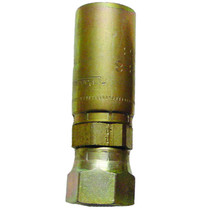 """Seal LOK Straight 8-8 Female ½"""" From ½"""" steel double braided hose to ½"""" pipe, this fitting would work. With the swivel that this fitting has it will keep your hose from twisting. Made from Chromium. 1JC55 8-8,PAR,Parker"""