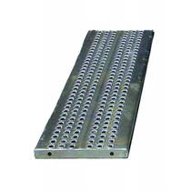 Car Trailer Loading Ramp w/ Bottom Rollers - 99in
