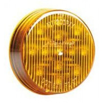 Establish the edge of your vehicle with this Maxxima Round Clearance Marker. The amber polycarbonate lens and housing fit standard mounting holes, grommets and connectors for a quick, uncomplicated installation.  - Contains 13 LED lights  - Diameter: 2.5 in.  - Depth: 0.69 in. | OEM Part Number: M11300Y