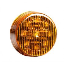 Maxxima 2in Round Clearance Marker - Amber