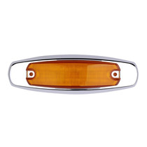 Illumination and visibility is no longer a concern when attaching these Maxxima Clearance Marker Amber lights to the front and rear sides of your truck or trailer. Add an additional measure of safety and assurance that other drivers can see you when turning on your lights.  - Weight: 1 Lbs.  - 6 in. | OEM Part Number: M20332Y