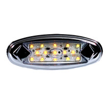 Maxxima Pete Light - Clearance Marker - Amber Clear