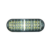 Maxxima 2in x 6in Oval White Back-up Light