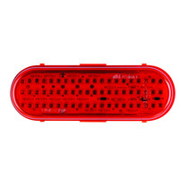 "Get reliable illumination with this Maxxima Stop/Tail/Turn Light. The red oval LED provides light for up to 100,000 hours, so you may never have to replace it, and the epoxy seal protects electronics from moisture and corrosion.  - Dimensions: 6.4"" x 2.2"" x 1.6""  - Lens thickness: 5 mm  - Includes surge protection 