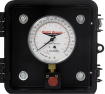 Simplify maintaining the legal weight of your truck or trailer with this Right Weigh Scale. It monitors a tandem axle group for an accurate on-the-ground measurement that lets you maximize time and load capacity. The exterior analog load scale features a weather-resistant case and a three-way bleeder valve to relieve pressure in the gauge when it's not in use.  | OEM Part Number: 310-54-PP