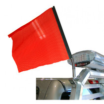 Red Safety Flag