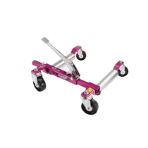 The Model 6313 is an ox. Able to jack vehicle weights to 6,300 lbs. (1,574 lbs. per wheel), including light duty trucks with tire widths up to 13 inches wide and 36 inches tall. This auto jack / dolly is the most versatile and strongest GoJak® in the lin