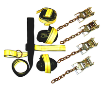 BA Products 4 Point Tie-Down Strap Kit w/Chain