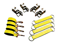 BA Products 8 Point Tie-Down Strap Kit 14 ft strap D-rings