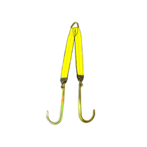 V-Straps - 30in Legs With 15in Grade 70 J Hook | BA Products