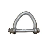 ECTTS - Heavy Duty Lfting Web Shackle, 3 in. Strap Eye