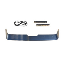 Shield your big rig's grille and side hood from the elements with this Grill Deflector. It includes all mounting hardware for simple installation, and it's made from high-quality durable materials.