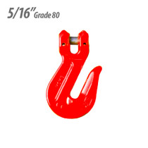 """ECTTS Clevis Cradle 5/16"""" Grab Hook - Grade 80"""