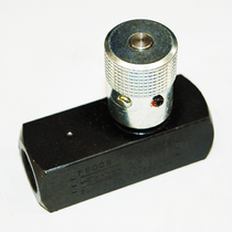 Parker's Pressure Relief Valve has a maximum pressure threshold of 5000 PSI. The valve's efficiency is brought up another level with hydraulic flow control functionality.   OEM Part Number: F600S