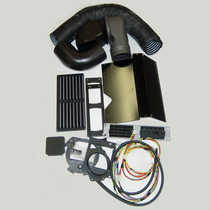 Upgrade your in-truck climate control with help from this Nite System Install Kit. It includes the cables, vents and ducts required to complete an installation.