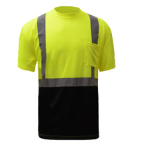 GSS Safety Class 2 (Black Bottom) Short Sleeve T-Shirt