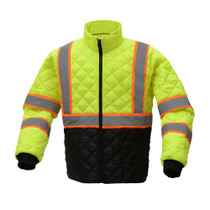 Quilted 2 Tone Jacket, Class 3 | GSS Safety
