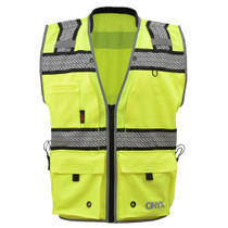 GSS ONYX Class 2 Ripstop Safety Vest, Lime