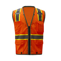 GSS Class Hyper-Lite Safety Vest, Orange