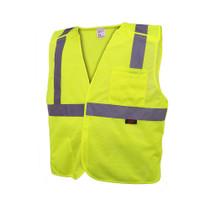 GSS Economy Class 2, 5 Point Breakaway Vest, Lime