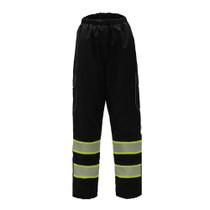 GSS ONYX Class E Rain Pants, Black
