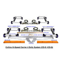 Collins Hi-Speed Carrier 4 Wheel Dolly System