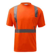 """Class 2 Moisture Control T-Shirt Orange  GSS 