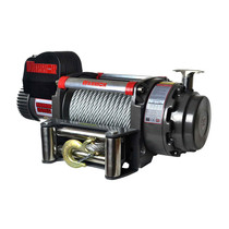 This is the COLOSSAL Samurai 20000lb Winch! Designed for the toughest of applications & tested in the most extreme environments imaginable, this great piece of kit boasts a massive all-brass, double-sealed, 7.5 hp Series wound motor, which is housed in full steel supports, ensuring this immense Warrior is ready for any challenge.